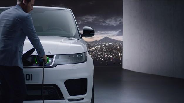Land Rover je elektrificirao Range Rover Sport