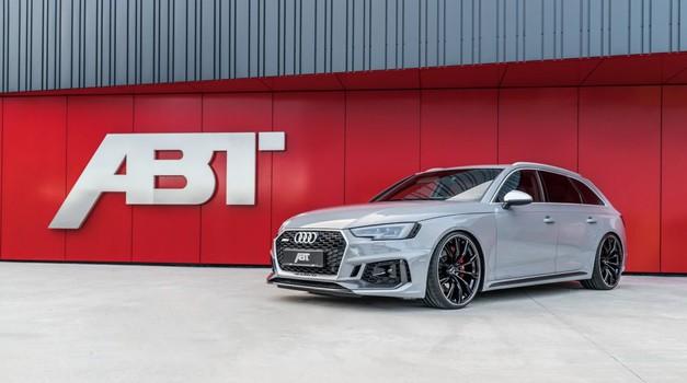 ABT Sportsline osvaja Ženevu tuniranim Audijem RS4 Avant
