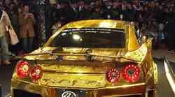 Video:Nissan R35 GT-R od čistog 24-karatnog zlata i nosi mu se zlatna boja