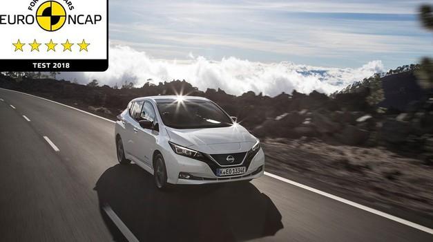 Nissan Leaf osvojio čak 93 posto bodova na Euro NCAP testu