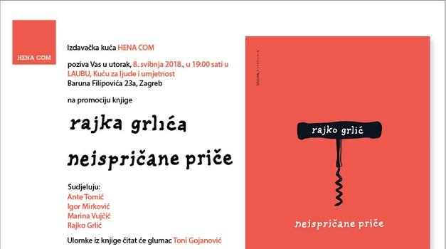 Promocija knjige Rajka Grlića - Neispričane priče