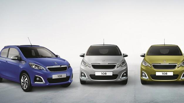 Novi Peugeot 108 od sada je u ponudi s novim motorom i bojama