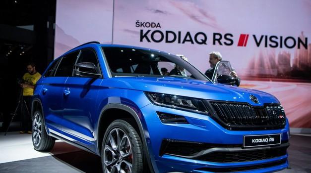 Pariz 2018: Škoda Kodiaq RS je dokaz da i dizelski SUV može biti papren