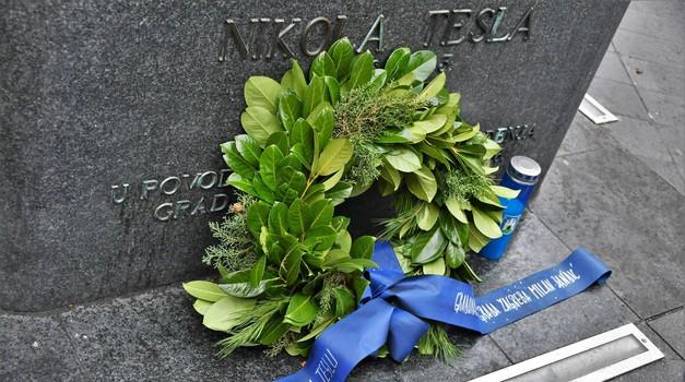Gradonačelnik Bandić obilježio godišnjicu smrti Nikole Tesle