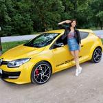 Novi Renault Megane R.S. ima 280 KS i spreman je za No.1, tvrde u Frankfurtu (foto:  Saša Kapetanovič, arhiv Tina Torelli)