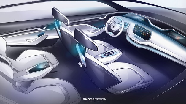 Škoda predstavila unutrašnjost Vision E concepta