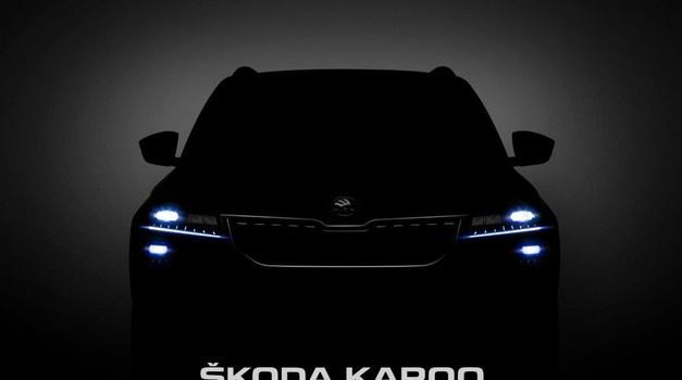 Za dva dana svjetska premijera u Stockholmu: stiže ŠKODA KAROQ  kompaktni SUV iz Češke