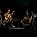 """Često svira u gitarskom triju s portugalskim gitaristom Pedrom Ribeirom Rodriguesom te s hrvatskim gitaristom Tomislavom Vukušićem. Gitarski kritičar svjetskog glasa, Colin Cooper oslovio ga je """"solista visokih mogućnosti"""""""