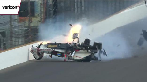 VIDEO: Sebastien Bourdais jurio 372 km/h na kvalifikacijama utrke Indy 500 preživio eksploziju i udarac u ogradu