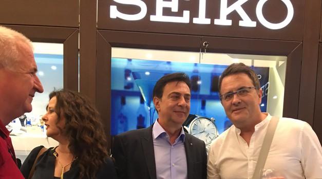 Luksuz u Zagrebu - Seiko otvorio trgovinu u Ilici