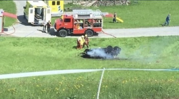 Richard Hammond doživio tešku nesreću u Rimac Conceptu S u švicarskom Saint Galenu