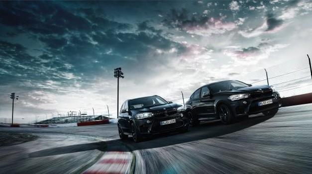 BMW predstavio atraktivne Black Fire izvedbe X5 M i X6 M
