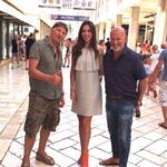 Modni kreator Ivane Trump Domenico Vacca, za kojega tvrde da je Ferrari modne industrije, ljetuje kod Lupina (foto: stephan lupino)