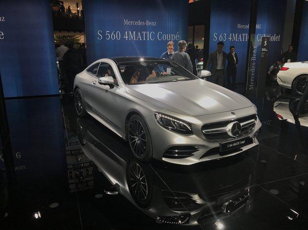 FRANKFURT 2017. IZ PRVE RUKE: Mercedes u punom sjaju, a GLC F-cell s revolucionarnom kombinacijom gorivih ćelija i struje