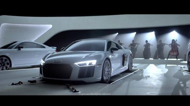 VIDEO: Omiljene pjesme iz TV serija u izvedbi Audijevih automobila