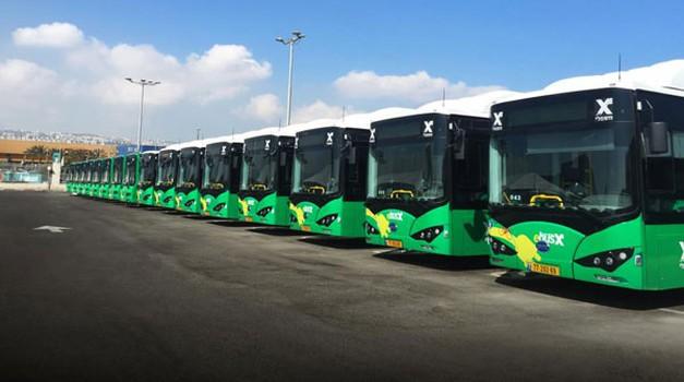 Zeleni transport u Haifi - Izrael uvodi električne autobuse
