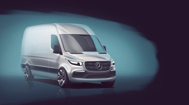 Mercedes Benz predstavlja novu generaciju Sprintera