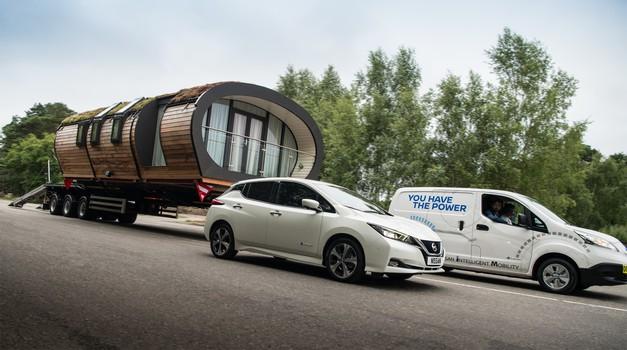 Obaranje rekorda: Nissanov kombi u Oslu vukao mobilnu kuću
