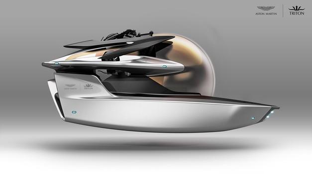 Aston Martin gradi mikropodmornicu na električni pogon