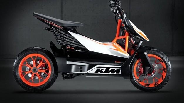 KTM uskoro predstavlja električni skuter