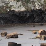 VIDEO Naftne mrlje i u Opatiji, 1666 cisterni otpadnoga katrana i nafte iscurilo iz sramne jame u Viškovu (foto: romeo ibrišević)