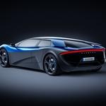 "U Švicarskoj je Tesla S dobio konkurenta, a izgled Exlextre asocira na ""talijane"" (foto: Elextra)"