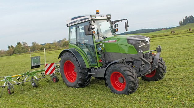 Fendt eksperimentira s električnim traktorom