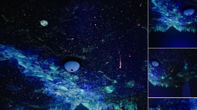 Po danu se ne vidi ništa, a po noći izgleda kao zvjezdano nebo