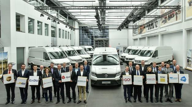 Prvi VW e-Crafters dostavljen kupcima