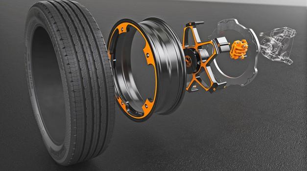 Continental osmislio kotač  ''dual Wheel Concept'' za električna vozila