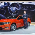 Dr. Herbert Diess, šef Volkswagenovog odjela osobnih auta na promociji novog Volkswagen Jette (USA) (foto: VW promo)