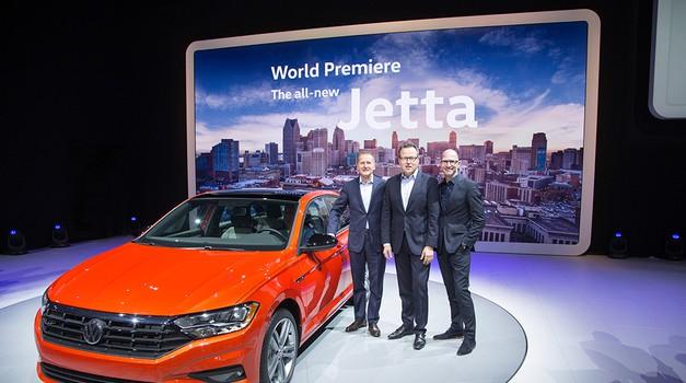 VIDEO + FOTO Jetta iz sedme generacije uskrsnula u Detroitu, ona je jedan od najprodavanijih Volkswagena ikada