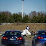 Butts nije baš bilo svejedno između dva M5 (foto: BMW Group press)
