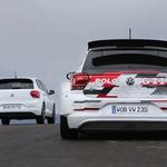 GTI i GTI R5 rame uz rame (foto: Volkswagen press)