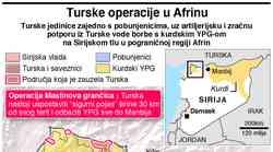 Krvoproliće se nastavlja, Turska i dalje nemilosrdno napreduje kroz sjever Sirije