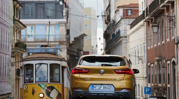 Video + foto: Nakon Milana i Dalmacije BMW X2 napokon zarolao prve prave kilometre u Lisabonu