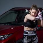 Monika Babić podemoni kad uđe u ring (foto: Bojan Markičević Haron)