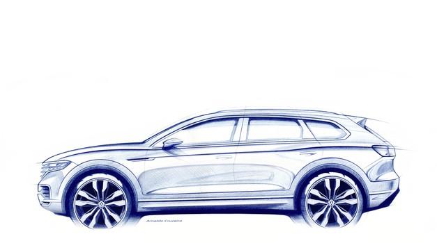 Digitalna kuća putujuća uz sve ono znano, to je 3. generacija VW Touarega - premijera u Pekingu