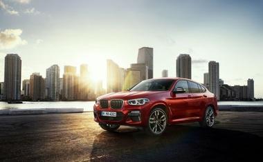 Maska sa šest očiju za novi crossover iz Munchena najvidljivija je promjena na posve novom BMW-u X4