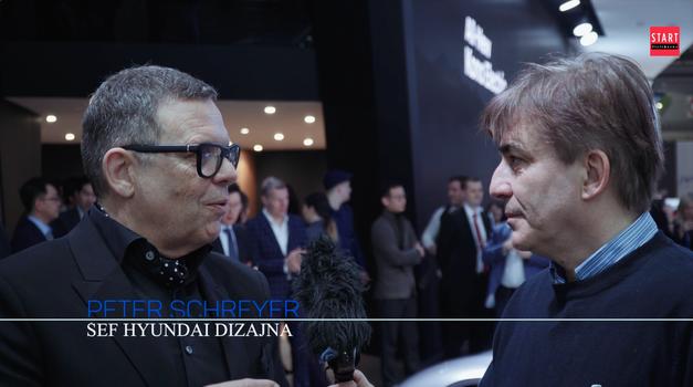 Video: Peter Schreyer, dopredsjednik Hyundaija: 2021. čak 60 % Hyundaija pokretat će struja, a hit je Le Fil Rouge