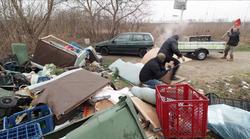 """Nevjerojatan video: Iskrcao smeće i """"popio batine""""! Kamere na svim ZG divljim odlagalištima otpada"""