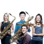Video: Nizozemski kvartet saksofona sa Samoborcem Lovrom Merčepom oduševio u Zlatnoj dvorani na Griču (foto: ardemus)