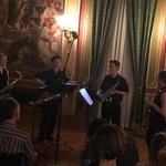 Video: Nizozemski kvartet saksofona sa Samoborcem Lovrom Merčepom oduševio u Zlatnoj dvorani na Griču (foto: igor stažić)
