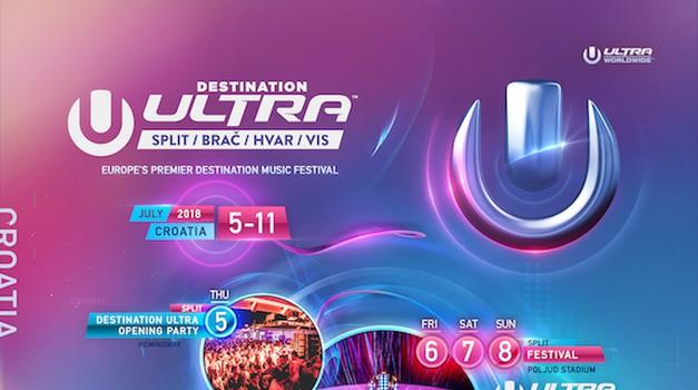 Destination ULTRA: Poznata imena svih izvođača!