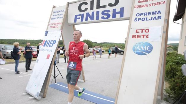 Krunoslav Borovec završio maraton kao 10., mjesto iza prvoplasirane djevojke koju je kavalirski propustio