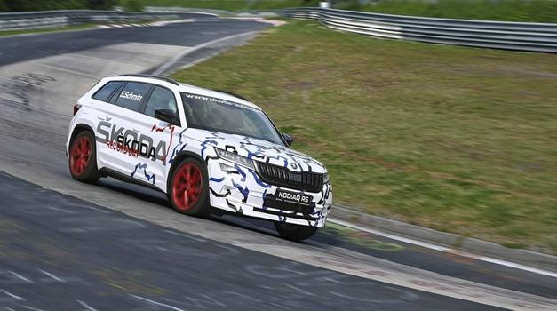 Škoda Kodiaq RS srušio rekord staze Nürburgring