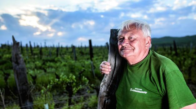 Škorin najveći i najpoznatiji adut je hrvatski kralj vina, a usprkos što su mu komunisti oteli djedovinu i proganjali Enjingije tvrdi da se bolje živjelo u socijalizmu