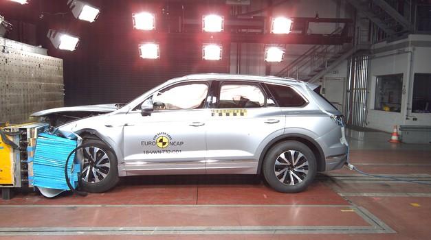 Audi A6 i VW Touareg dobili 5 zvjezdica na EuroNCAP testu i njima se mogu dičiti, a Suzuki Jimny na svoje 3 ne može biti ponosan (video)
