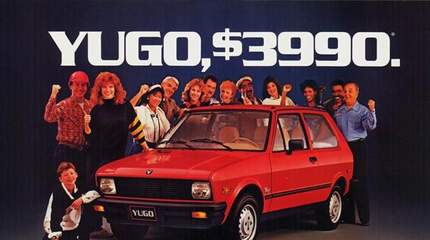 Yugo je 1987. bio Space Shuttle za Hyundai, danas ga nema, a Hyundai je top klasa