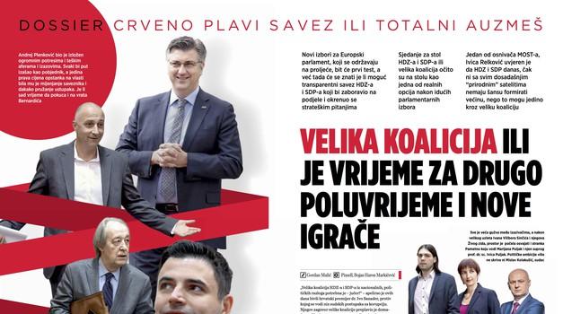 """Crveno-plava koalicija je već tu, jer u Saboru HDZ i SDP već funkcioniraju kao momčad koja mijenja """"umorne"""", alternativa su jedino posve novi igrači"""